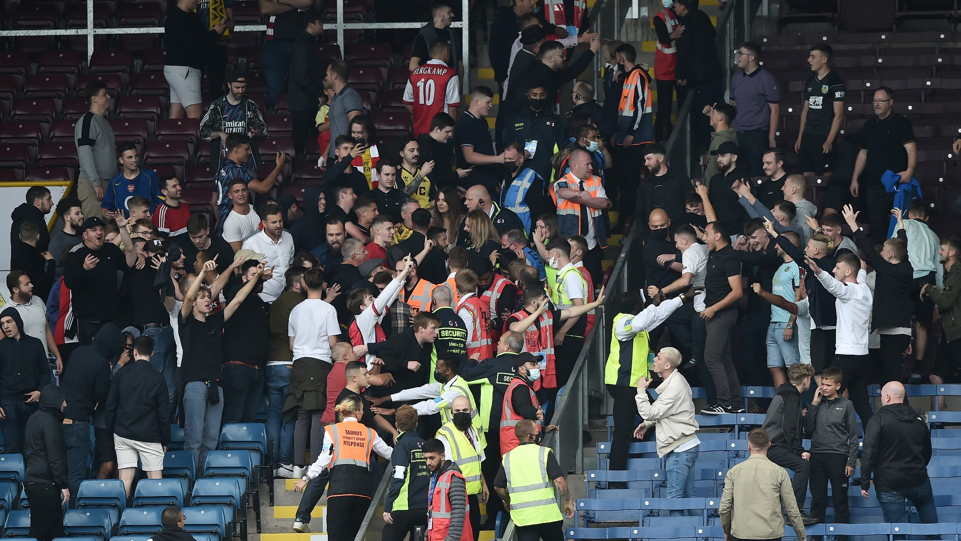 Burnley-Arsenal marred by crowd trouble following Gunners victory