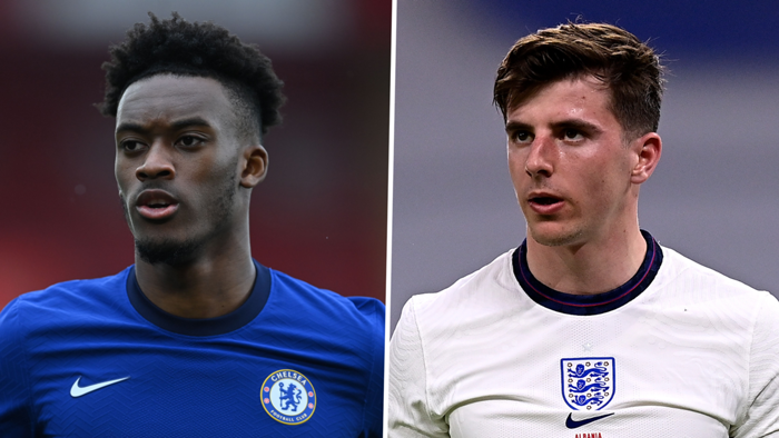 Callum Hudson-Odoi and Mason Mount