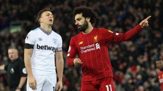 Mohamed Salah, Liverpool vs West Ham