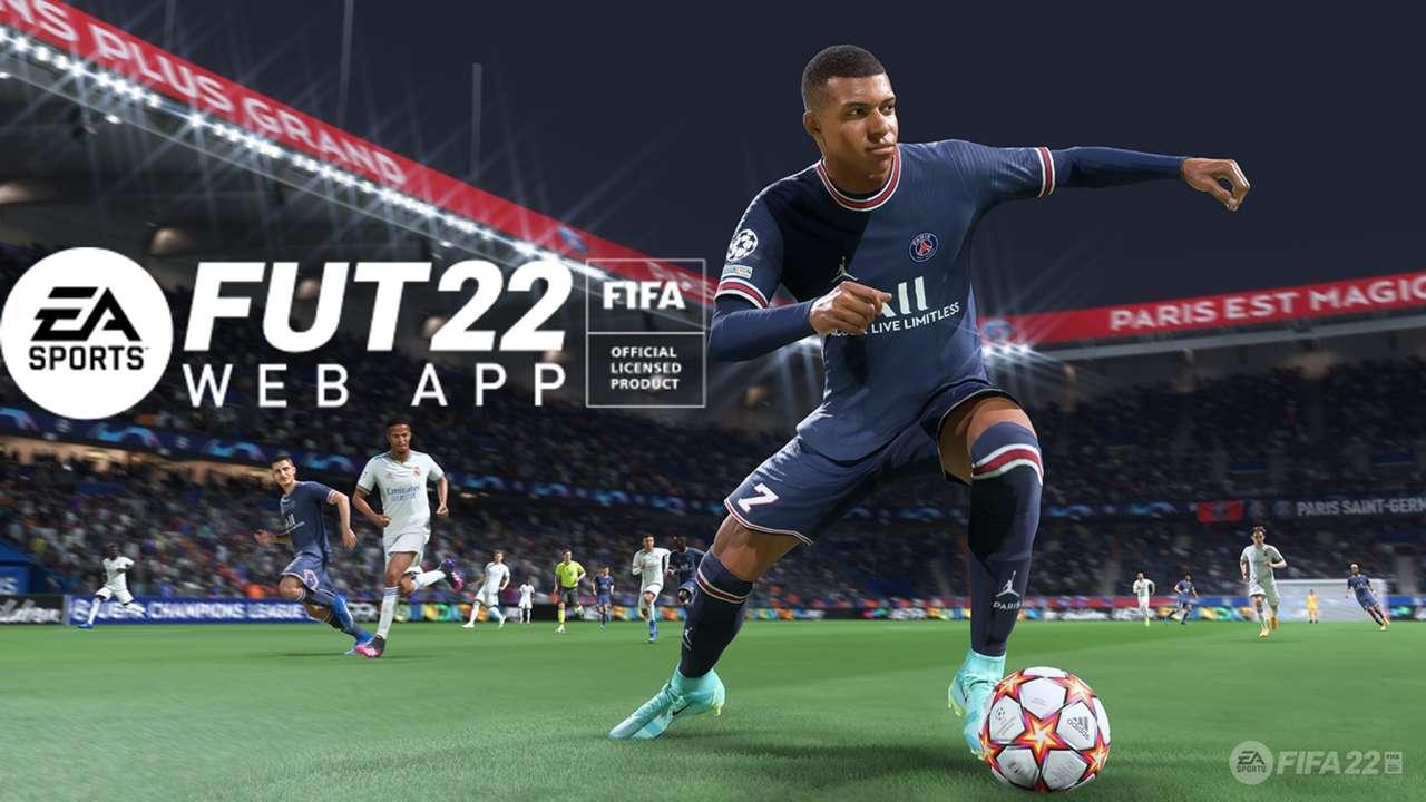 FIFA 22 Web App Kylian Mbappe