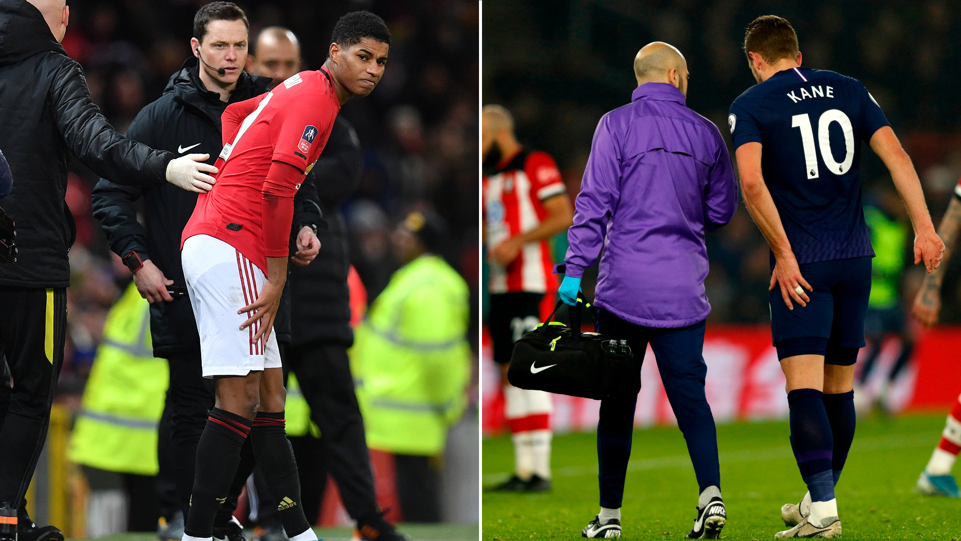 Kane and Rashford injuries not surprising with amount of games - Guardiola