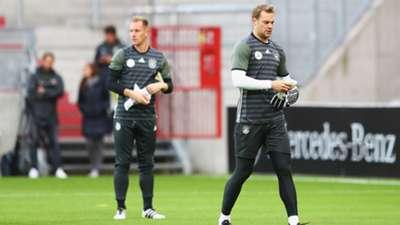 Ter Stegen Manuel Neuer DFB-Team 16102016