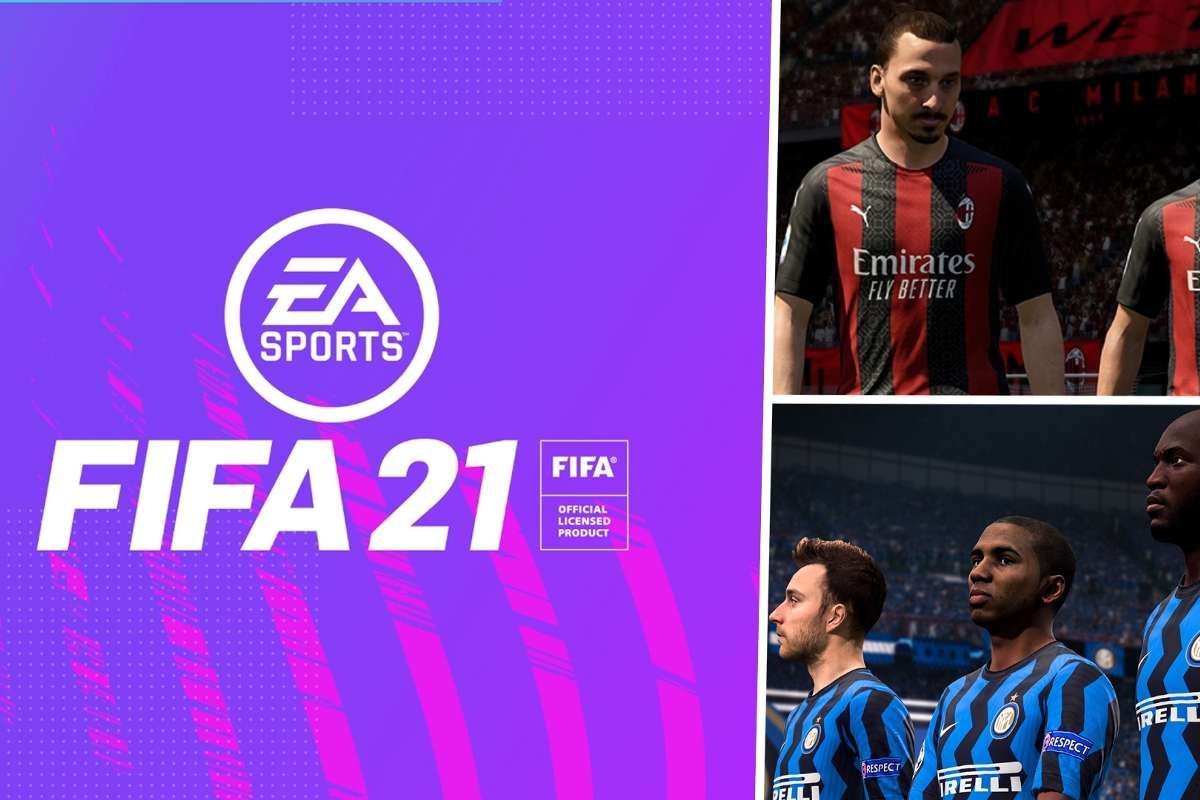 fifa 21 ac milan and inter revealed as ea sports partners for new game goal com fifa 21 ac milan and inter revealed as