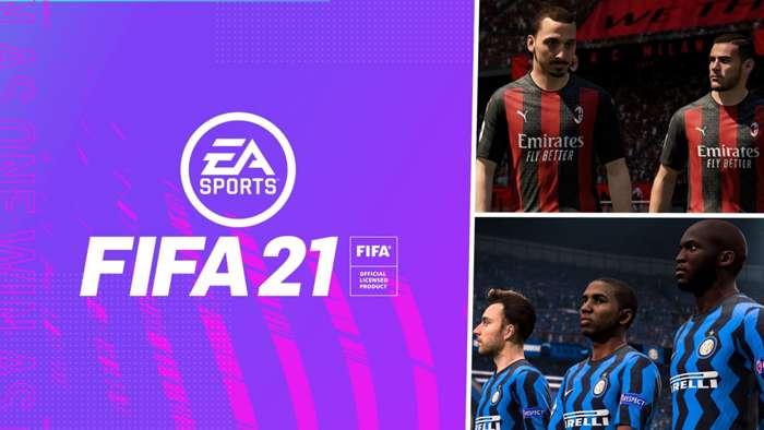 FIFA 21 AC Milan Inter
