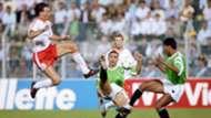 Marco van Basten Netherlands Egypt 1990 World Cup