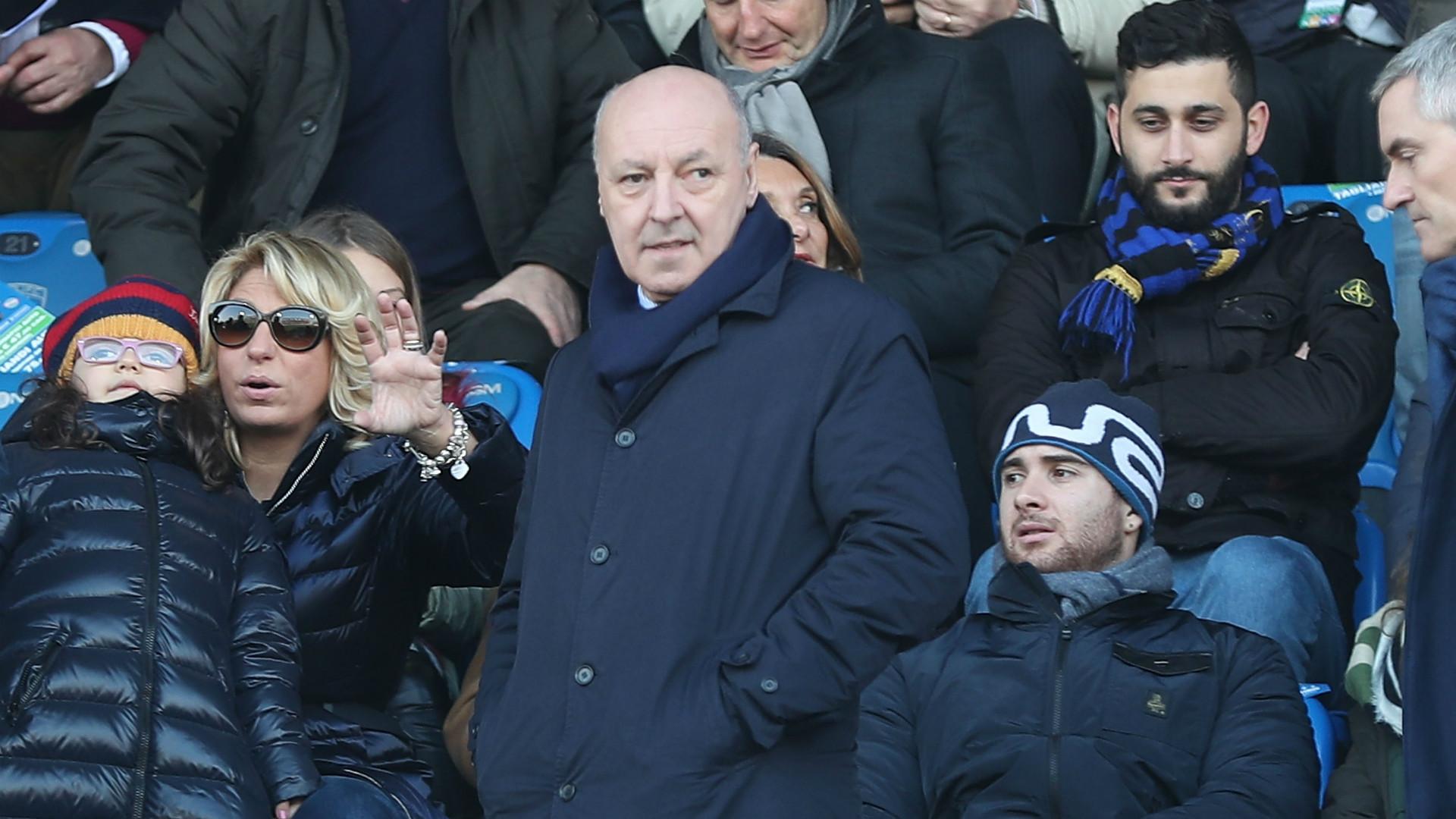Inter, scaramanzia Marotta: