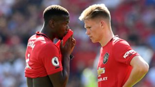 Scott McTominay Paul Pogba Manchester United 2019-20
