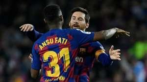 Barcelona prodigy Fati breaks La Liga record in stunning first-half performance