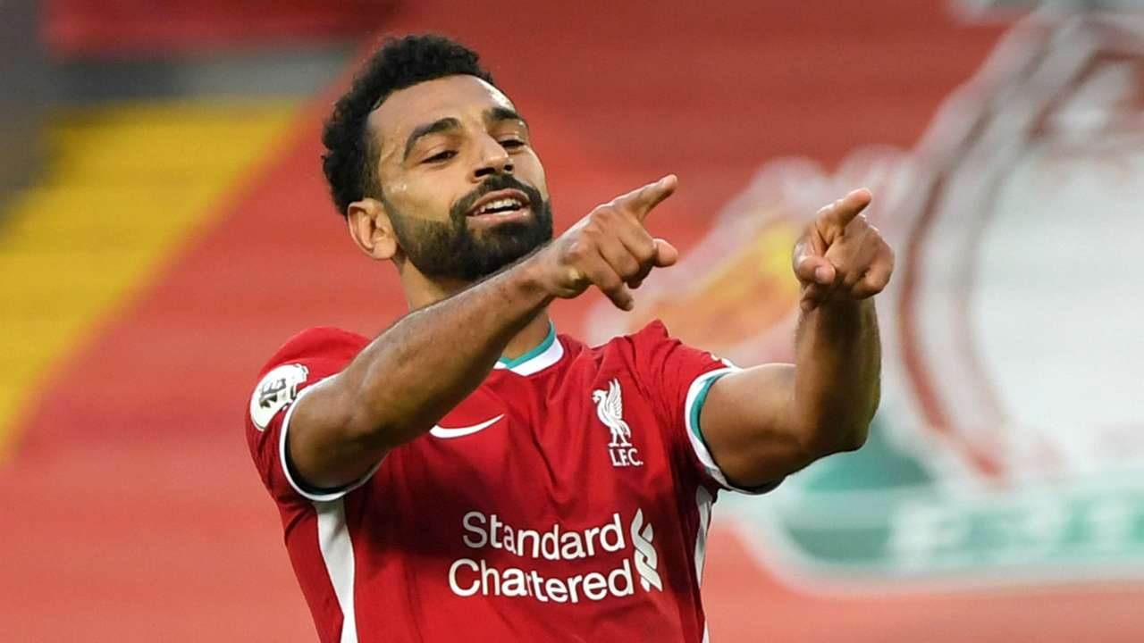 Mohamed Salah Liverpool Leeds 2020-21