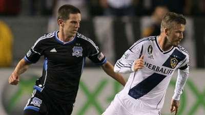 Sam Cronin San Jose Earthquakes David Beckham LA Galaxy 2012