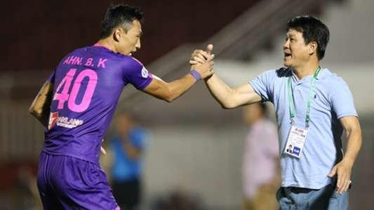 Sài Gòn muốn vô địch V.League bằng cách đá trọn mùa giải | Goal.com