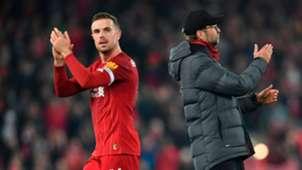 Henderson/Klopp Liverpool 2019-20