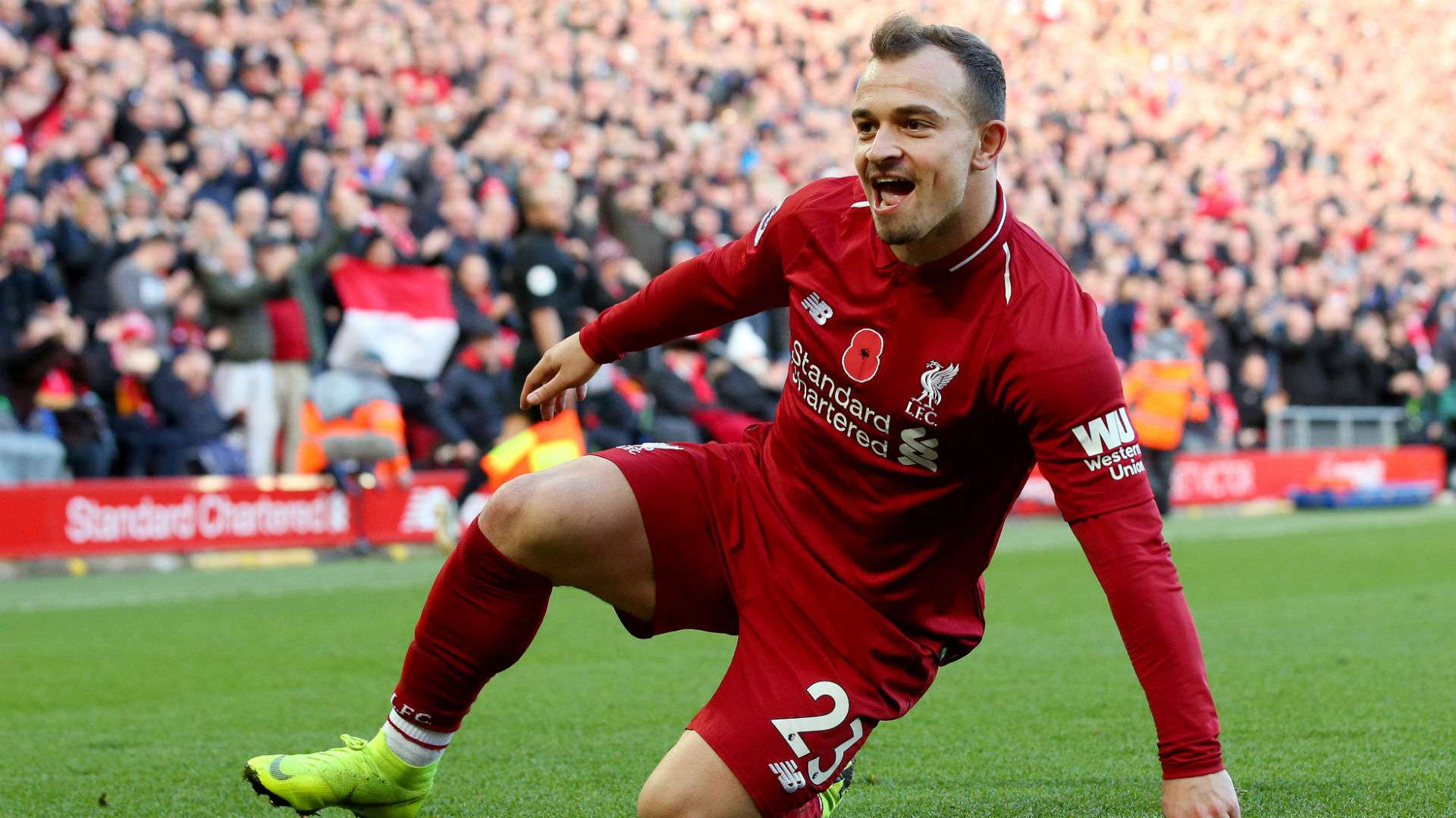 Liverpool News Xherdan Shaqiri Silencing Those Who Ridiculed Him After Sealing Reds Switch Goal Com
