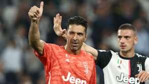 Gianluigi Buffon Merih Demiral Juventus v Verona 09212019