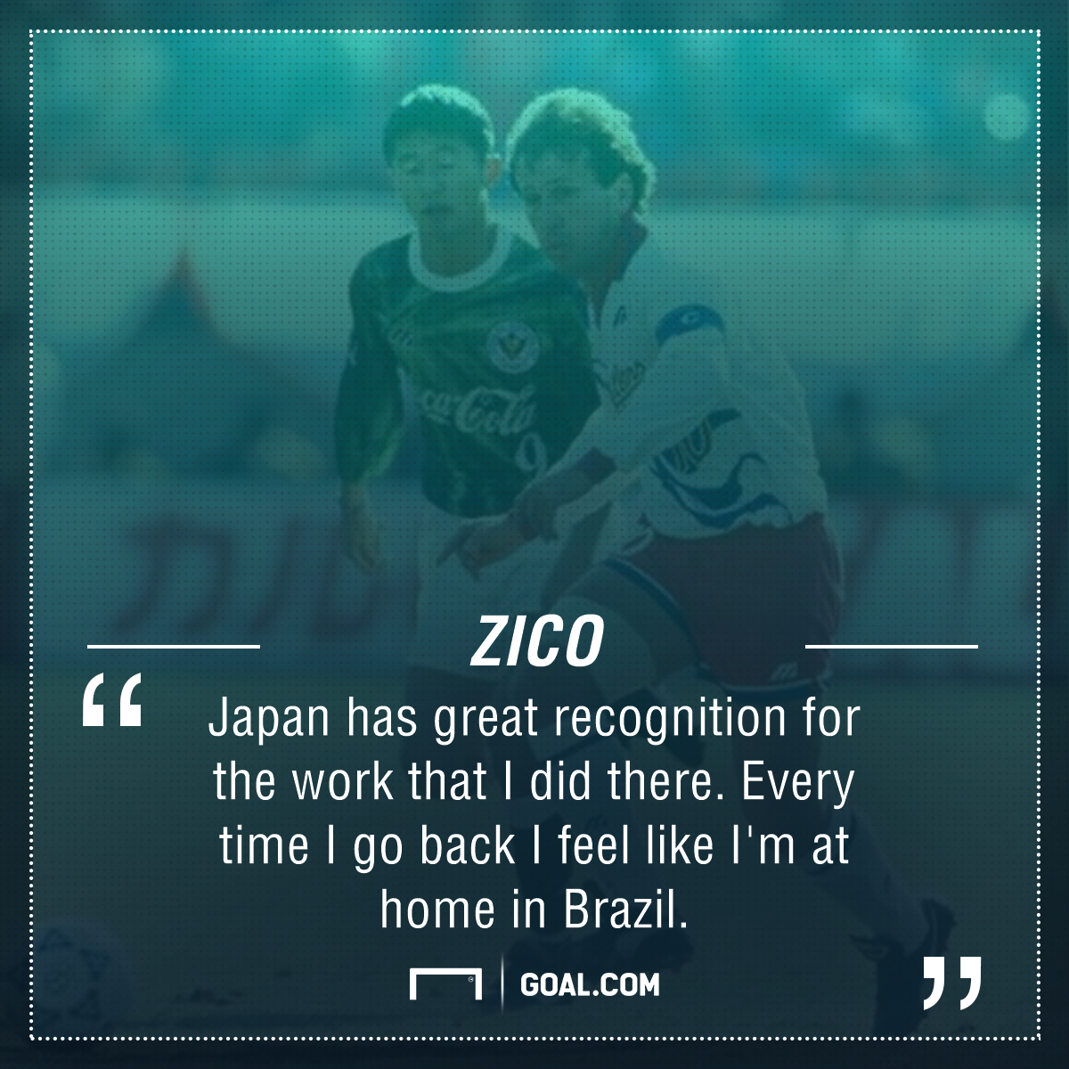 Zico About Japan