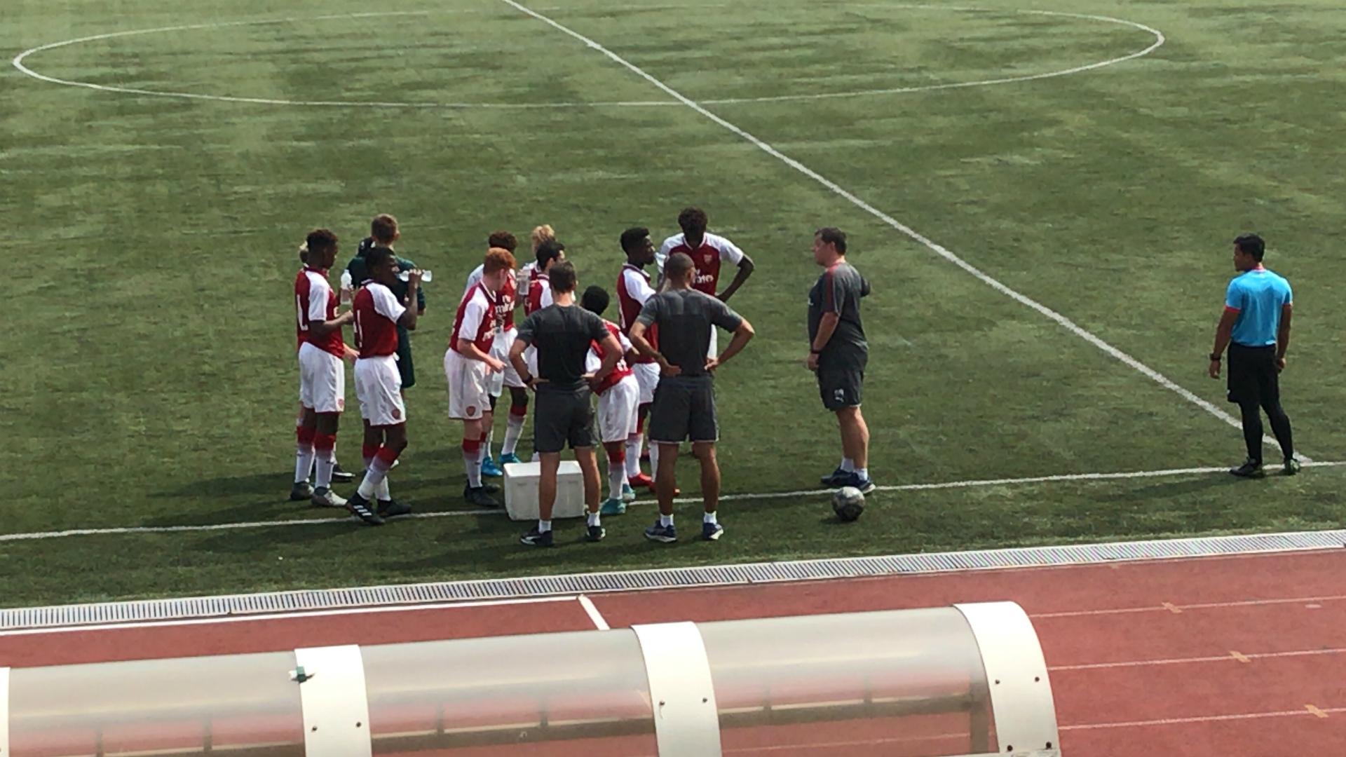Arsenal U15s in Kuala Lumpur