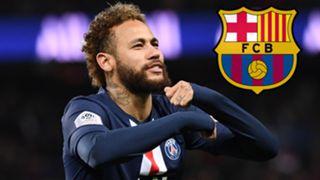 Neymar PSG Barcelona 2019-20