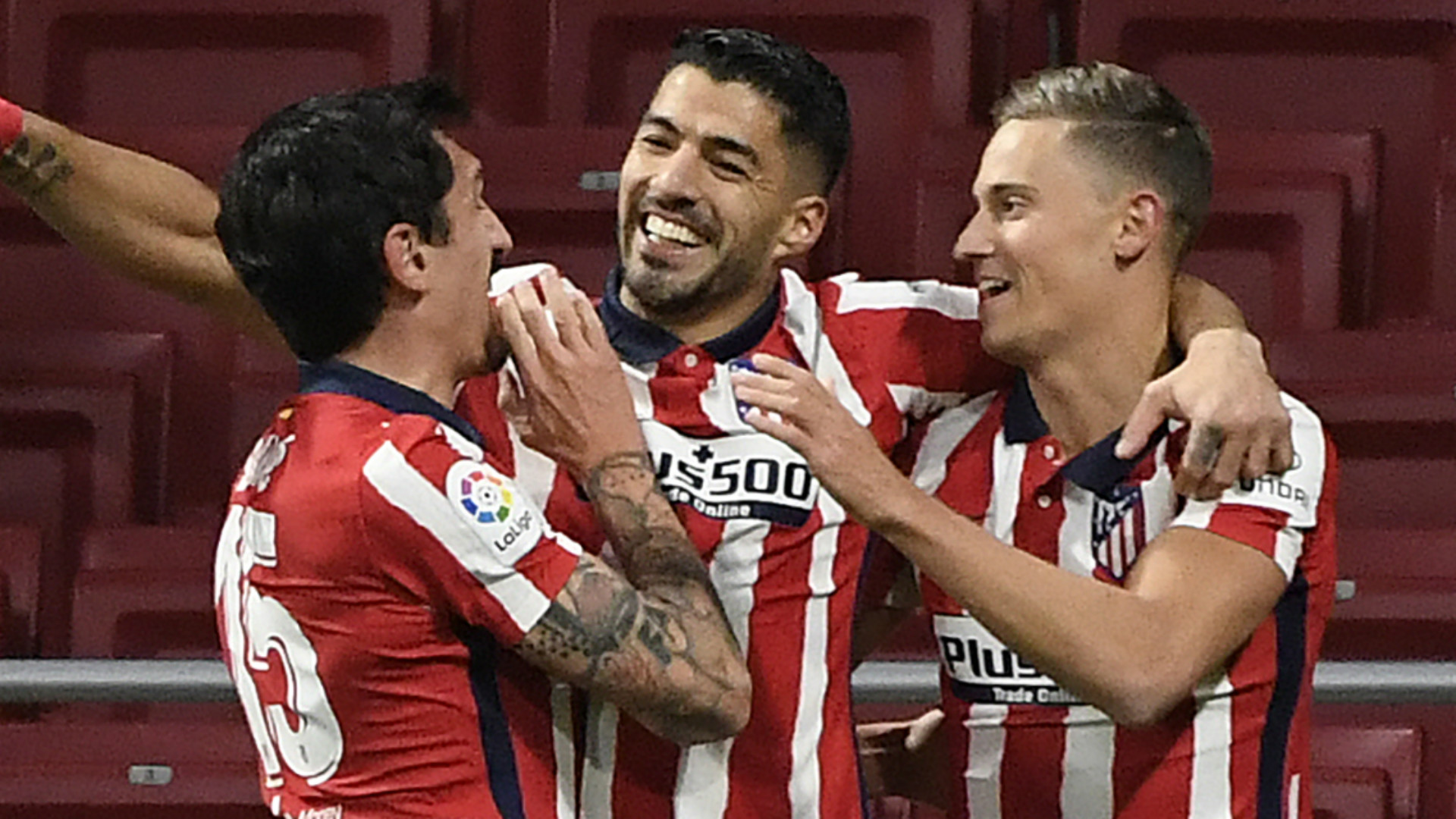 Suarez matches Falcao scoring record with Atletico Madrid strike to continue superb start at Wanda Metropolitano