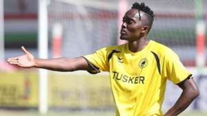 Tusker player reacts.