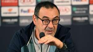 Maurizio Sarri, Chelsea presser