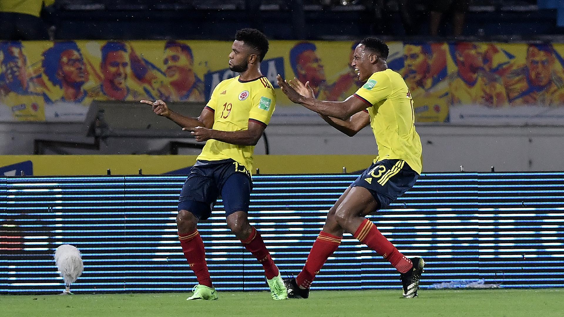 LIVE: Colombia vs Argentina