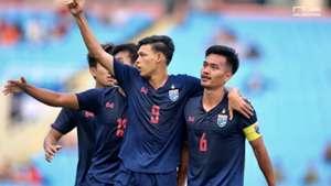 Shinnaphat Lee-aoh - Supachai Jaided U23 Thailand U23 Indonesia AFC Under 23 Qualifiers 2020