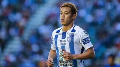 Keisuke Honda Pachuca Liga MX