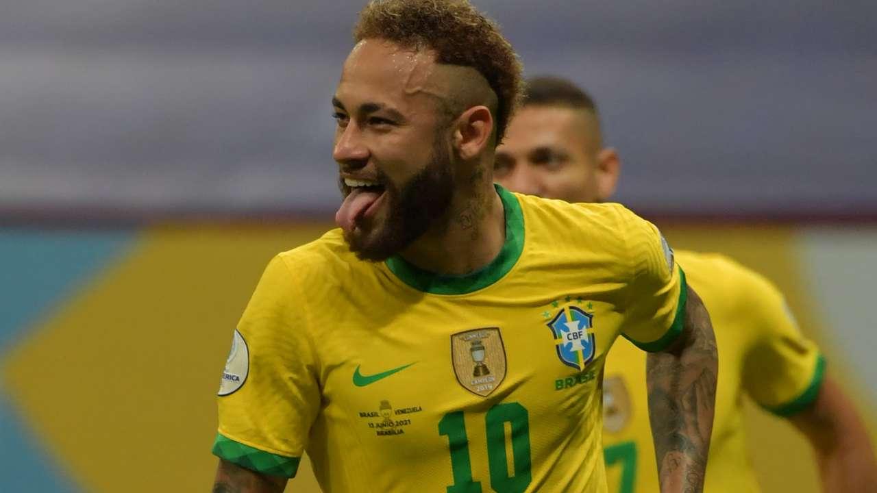 Neymar Brazil Copa America 2021