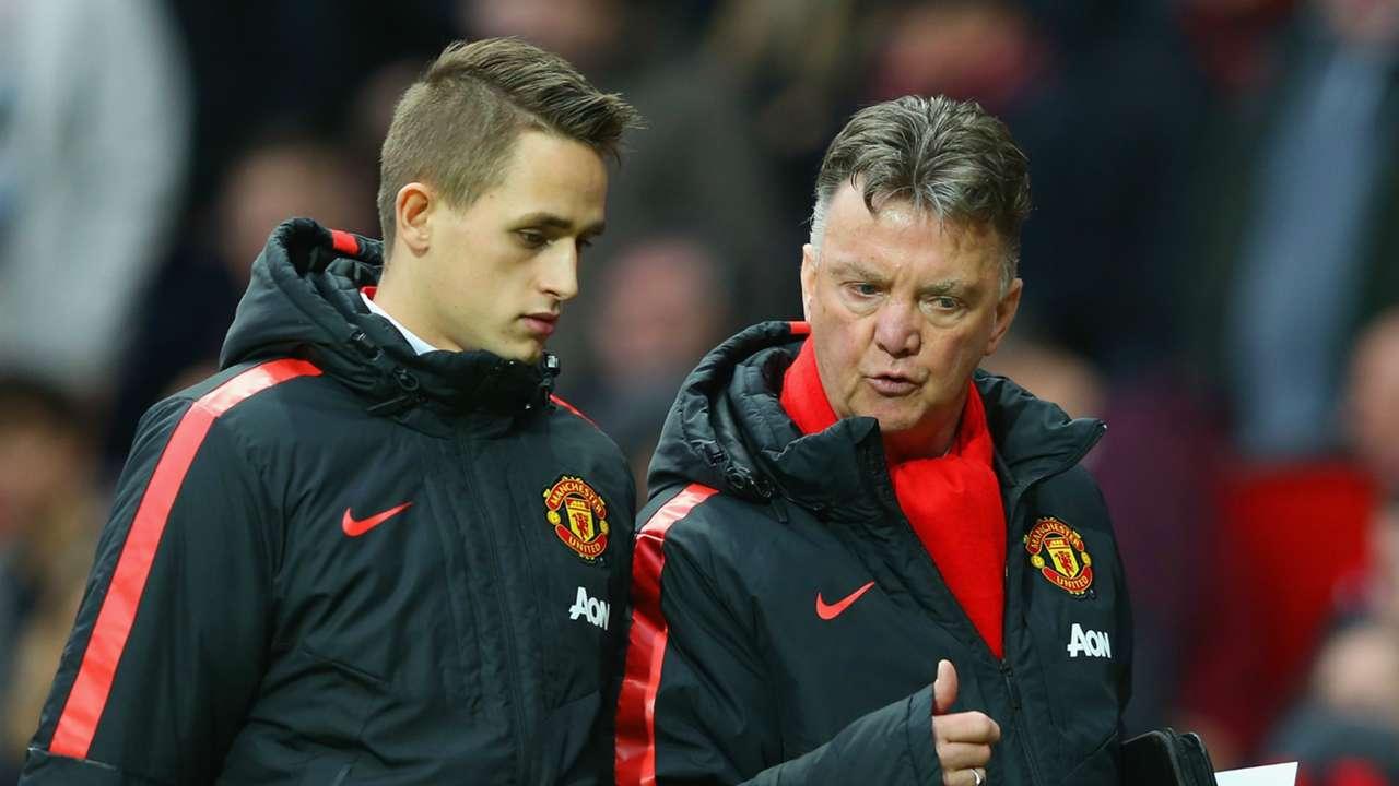 Adnan Januzaj Louis van Gaal Manchester United