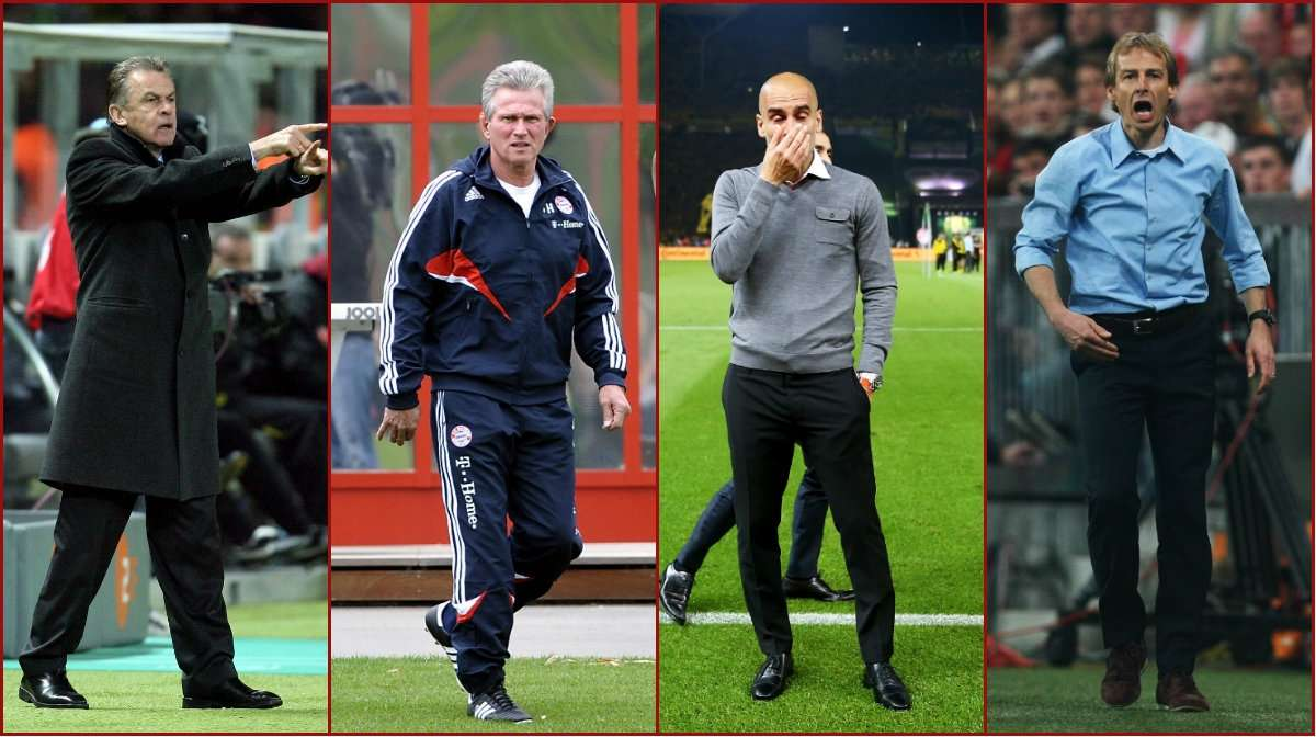 Daftar Pelatih Bayern Munich Dalam 20 Tahun Terakhir