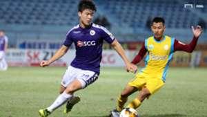 Do Duy Manh vs Pham Trum Tinh Ha Noi FC vs Sanna Khanh Hoa BVN Round 15 V.League 2019