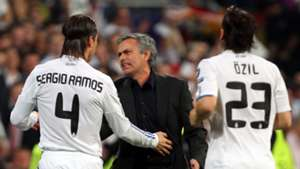 Jose Mourinho Sergio Ramos Real Madrid