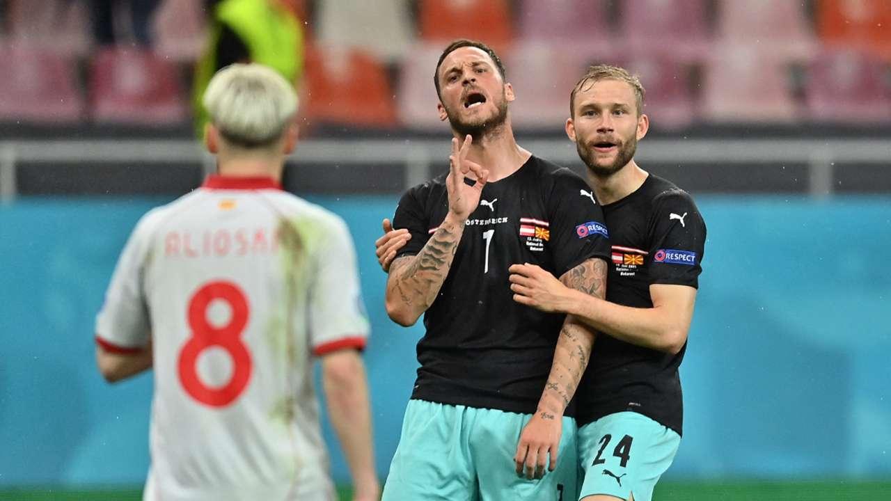 Arnautovic Austria Macedonia Euros 2021