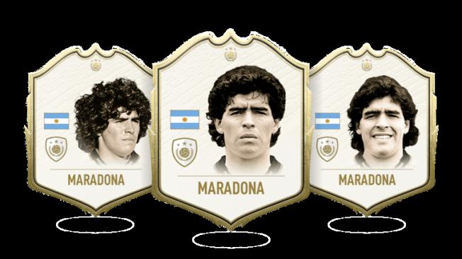 Embed only Maradona FIFA 20 Icon