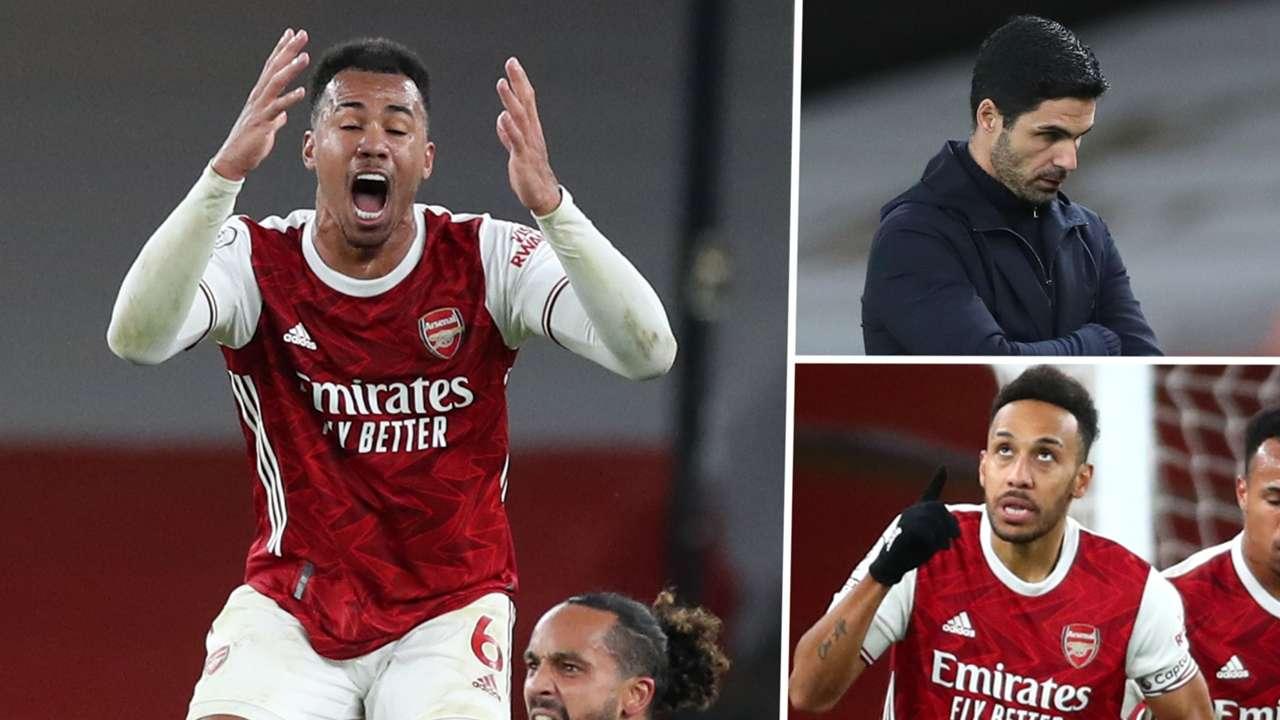 Gabriel Arteta Aubameyang Arsenal GFX