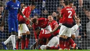 Paul Pogba Manchester United Chelsea FA Cup 18022019