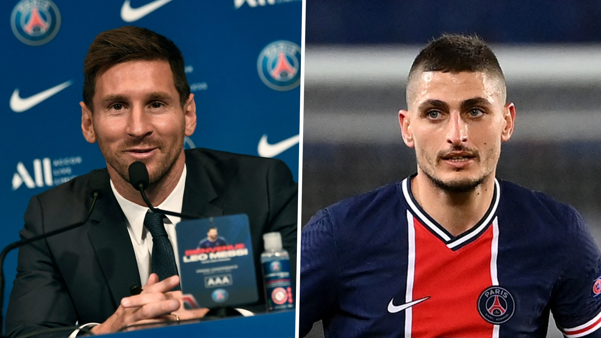 'Verratti is a phenomenon' - Messi reveals Barcelona wanted to sign PSG star