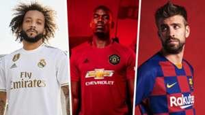san francisco 590fa e8ed0 New 2019-20 football kits: Real Madrid, Manchester United ...