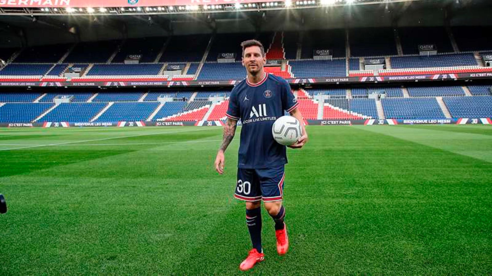Camiseta de Messi en el PSG 2021-2022: diseño, precio, cuánto cuesta y  dónde comprarla | Goal.com