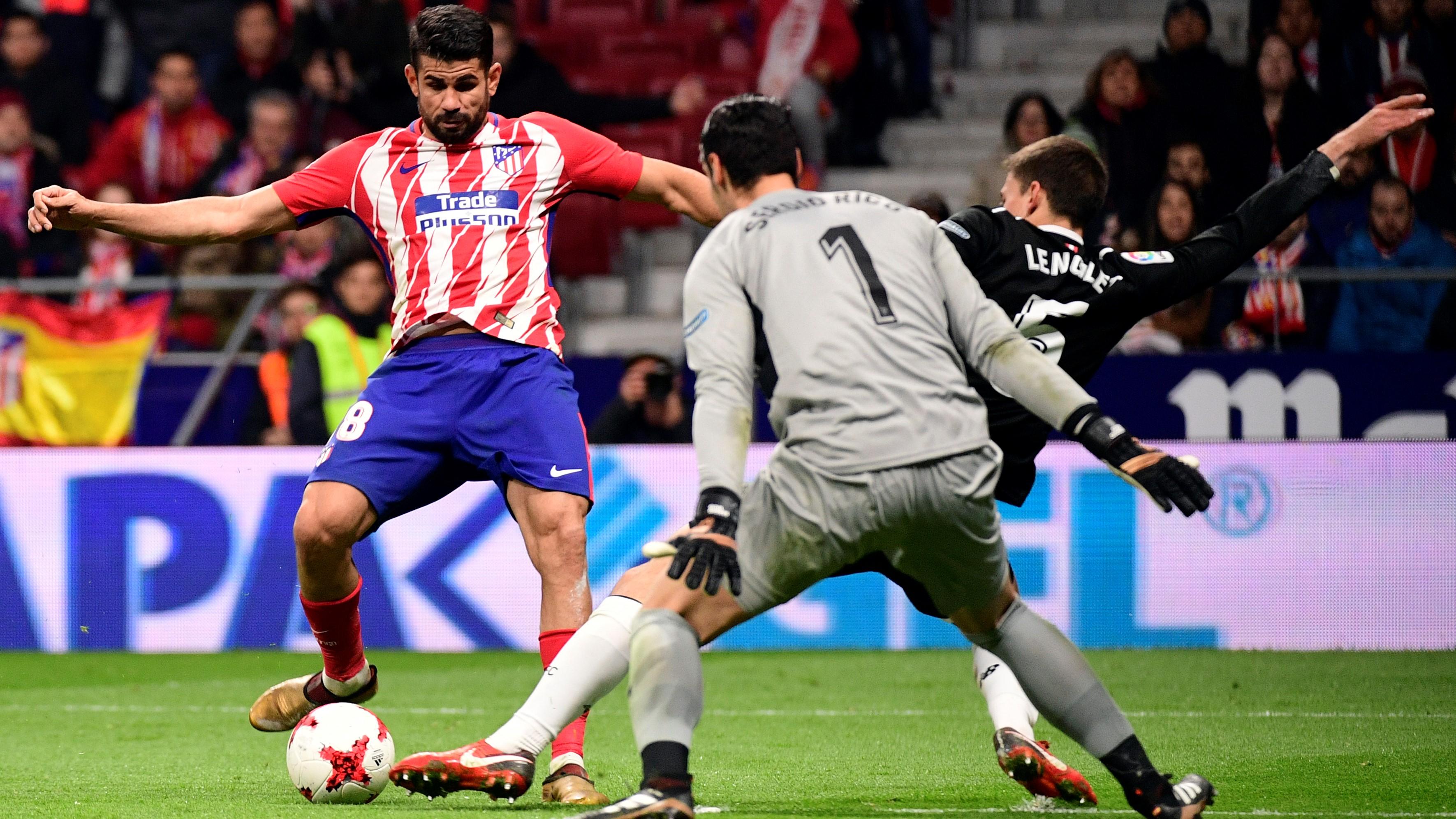Diego Costa Atletico de Madrid Sevilla Copa del Rey 17012018
