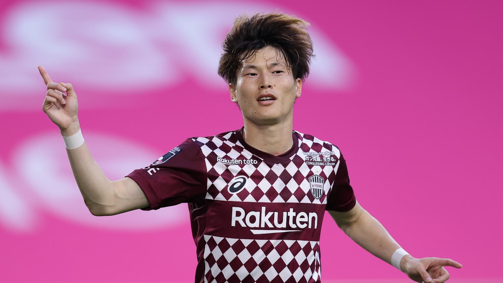 Celtic sign Japan international Kyogo Furuhashi from Vissel Kobe