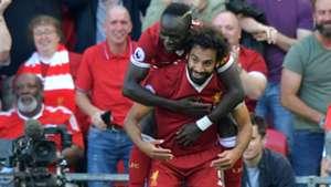Sadio Mane Mohamed Salah