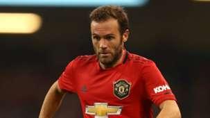 Juan Mata Manchester United 2019-20