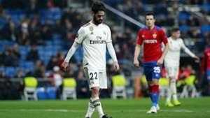 Isco Real Madrid Champions League ZSKA Moskau 121218