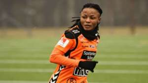 Chukwudi scores first Damallsvenskan goal of the season as Djurgarden lose to Goteborg