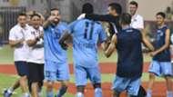 Masoud Juma scores in UAE.