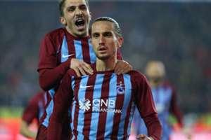 Abdulkadir Omur Yusuf Yazici Trabzonspor Bursaspor 12/16/17