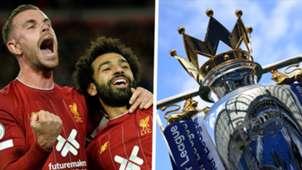 Liverpool Premier League Jordan Henderson Mohamed Salah 2019-20