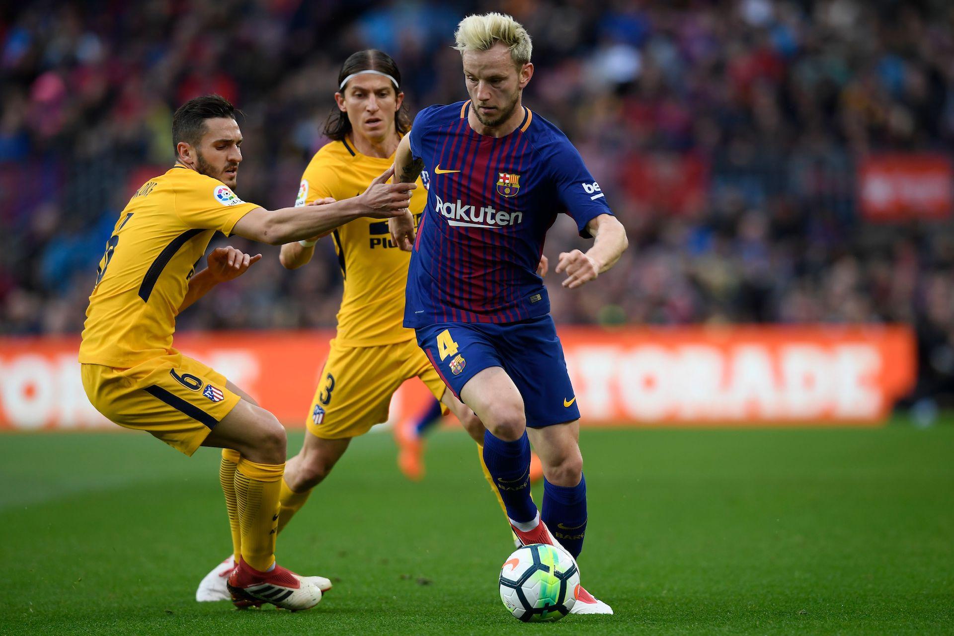 Rakitic Koke Barcelona Atletico LaLiga