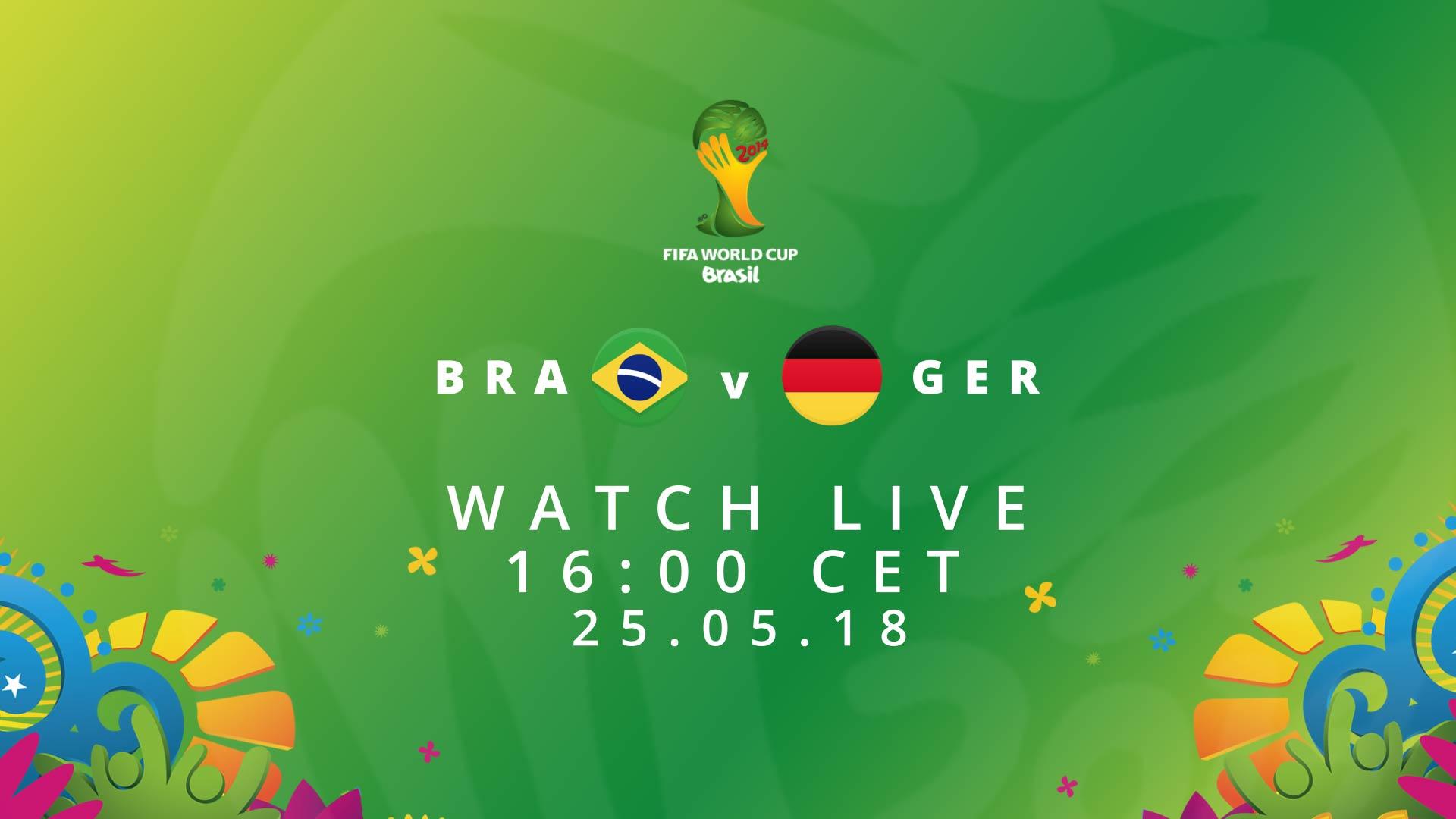 FIFA Rewind Brazil Germany